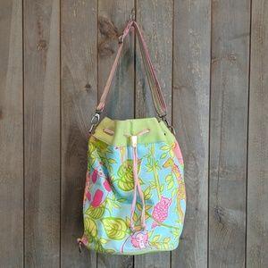 Lilly Pulitzer Bucket Bag, Adjustable Strap